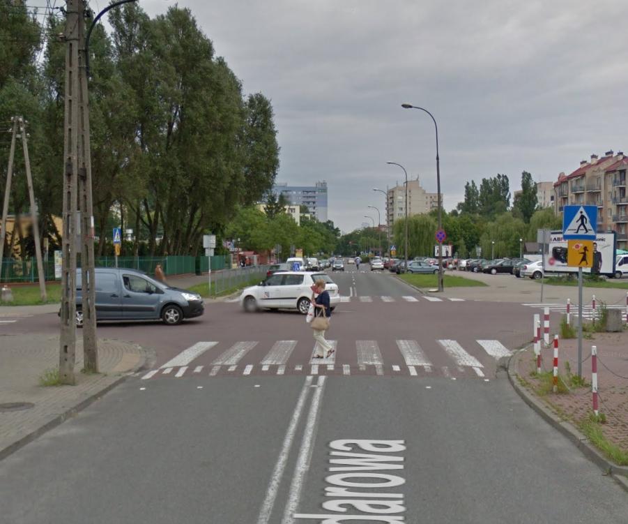 Trasa egzamin prawo jazdy Warszawa Radarowa WORD Okęcie