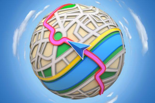Trasa na mapie