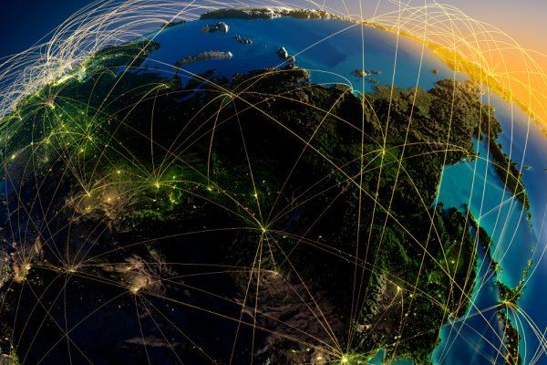 Azja system nawigacji