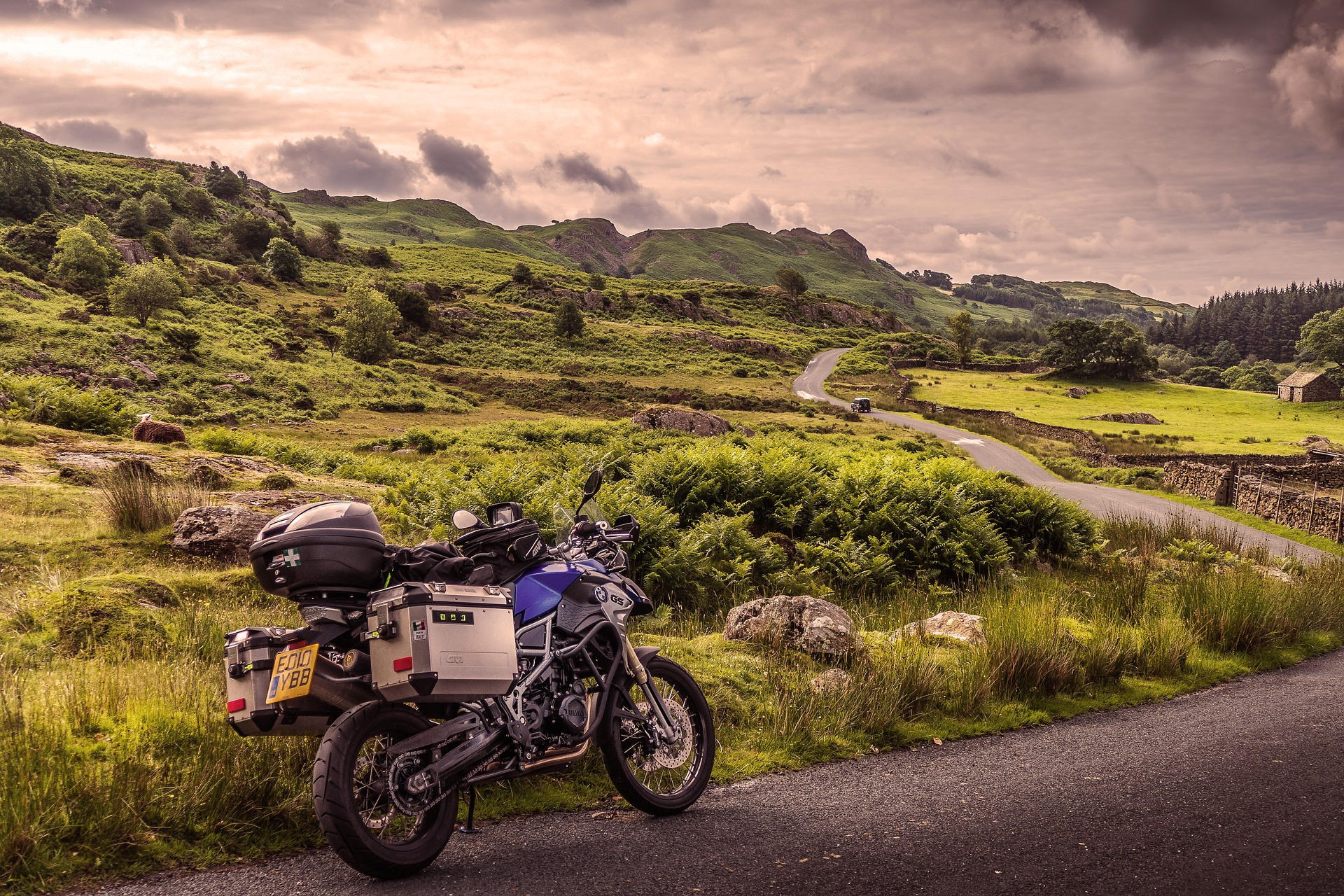 droga motocykl