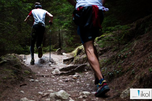 Biegacze na szlaku