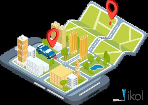 Lokalizacja i powiadomienia GPS