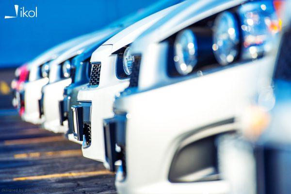 Flota samochodów służbowych