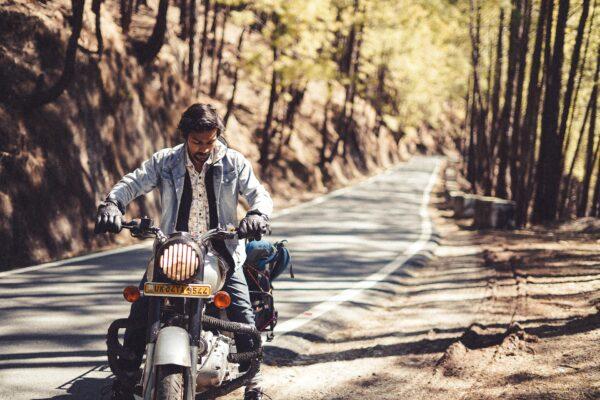 motocykl podroz