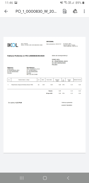 FV IKOL Tracker