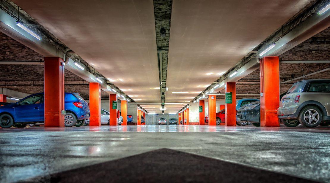 garaż wielopoziomowy