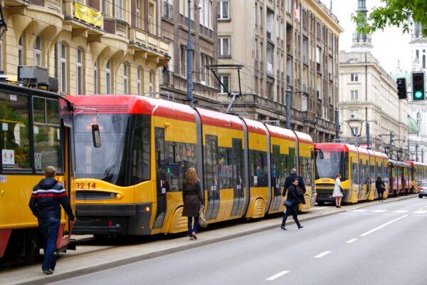 korki uliczne polskich miast